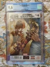 The Amazing Spider-Man #4 2014.First printing.First appearance of Silk.CGC 9.6.
