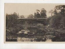 The Iron Bridge Newport Pagnell Buckinghamshire 1939 RP Postcard 537b