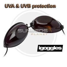 Sunbed Igoggles Solarium UV Tanning Eye Protection Goggles