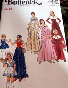 *LOVELY VTG 1960s GIRLS COSTUME Sewing Pattern 12