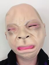Cry Baby Mask Latex Crying Child Tears Masks Fancy Dress Costume Baby Face