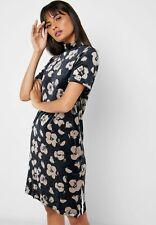 ADIDAS ORIGINALS BELLISTA VELVET TEE DRESS FLORAL PRINT UK 8 NEW RARE