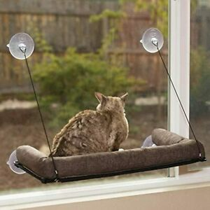 Petsport Kitty Sill Seat Bed EZ Window Mount with Bolster