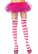 Cheshire Cat Tights, Leg Avenue, Pantyhose, Sexy, Alice In Wonderland, Pink
