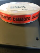 Damaged Labels 1000 Per Roll Great Stickers