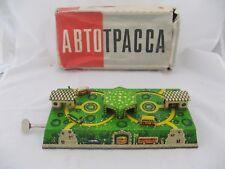 2390* bus station jouet tôle  ABTOTPACCA ancien made un ussr