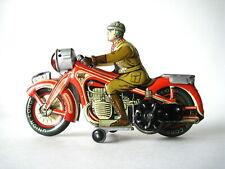 Arnold A 643 tin clockwork motorcycle - us zone Germany 1950 Near mint