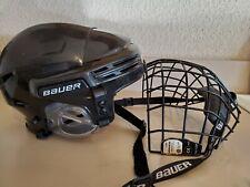 Bauer 7500 Hockey Helmet mask Combo used Black Small