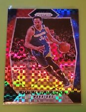 2017-18 Shaun Livingston Prizm Red White and Blue Basketball Card #49