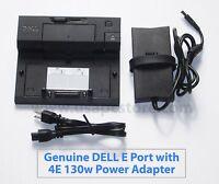 dell e port pr03x docking station k07a e6410 e6420 e6500 + pa-4e adapter 130w