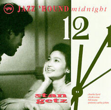Jazz 'Round Midnight: Stan Getz by Stan Getz (Sax) (CD, Feb-1993, Verve)