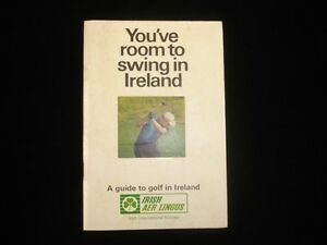 1960's 'You've Room to Swing in Ireland' - A Guide to Golf in Ireland VG