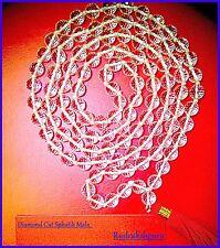 Original Sphatik Mala / Diamond Cutting Spahtik Mala - 109 Bead - Lab Certified