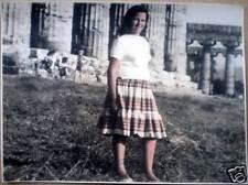 1950s foto GRUMENTUM Archeologia Grumento Potenza Paestum