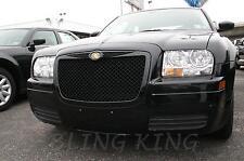 Chrysler 300 Bentley mesh grille chrome grille BLACK mesh 05 06 07 08 09 2010
