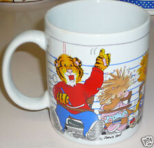 Suzy's Zoo The Duckport Classmates COFFEE MUG cup 1997 duck tiger marmot school