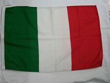 BANDIERA ITALIANA CM 30 X 45 PER BARCA GOMMONE MOTOSCAFO BARCHE ITALIA FLAG