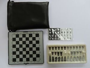 Vintage Novag Jasper Special Chess Computer Board & Two Sets Magnetic Pieces