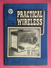 PRACTICAL WIRELESS - Magazine - June 1950 - R.F. Capacity Meter - Super-Het