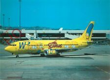 Postcard- WESTERN PACIFIC THE SIMPSONS LIVERY BOEING 737-301 N949WP [AIH]