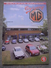 Enjoying MG (September 2005) MGA Twin Cam, 1600 & 1600 Mk II, MGB