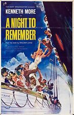 A NIGHT TO REMEMBER (DVD) DRAMA TITANIC SINKING