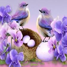 DIY 5D Diamond Embroidery Painting Cartoon Bird Cross Stitch Craft Home Decor