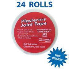 24 Bulk Box Deal Plasterers Scrim Mesh Plasterboard Joint Scrim Tape Box 48mmx90