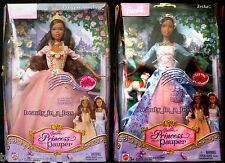Anneliese Erika Barbie Doll African American Princess and the Pauper SM AA Lot 2