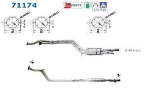 Catalizador Mercedes 280 E 300 E 320E E280 E320 W124 T124 193CV/197CV/220CV +Kit