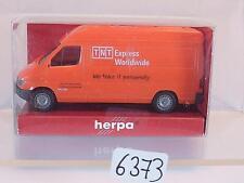 Herpa 1/87 Mercedes Benz Sprinter T1N TNT Express Worldwide OVP #6373