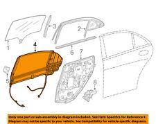 Mercedes Oem 14-16 S63 Amg Glass-Rear Door-Sunshade Left 22281001207N59