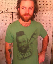 MR. T - Fuze Iced Tea Green Cotton Blend Size S T-Shirt