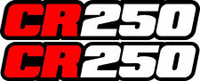 CR 250 Swingarm Airbox Number Plate Decals Stickers CR250 Cr250R 250r 2 stroke