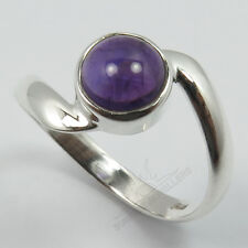 Natural AMETHYST Gemstone Fabulous Ring Choose Any Size 925 Pure Sterling Silver