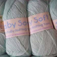 Sullivans Baby Soft Knitting Yarn 50g Ball 4 Ply MINT