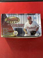 1999 Bowman's Best Baseball Hobby Box 24 factory sealed packs.