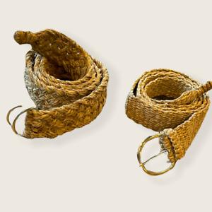 Handmade Vegan Nepal Boho Hemp Belt, Hippie Unisex Eco-Friendly Hemp Belt