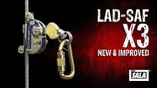 "3M Capital safety DBI SALA Lad-Saf X3 3/8"" 9.5mm Cable climb 6160054 NEW STOCK"