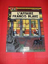 BD EO INTERDITE ! Blake et Mortimer - L'AFFAIRE FRANCIS BLAKE Ted Benoit Jacobs