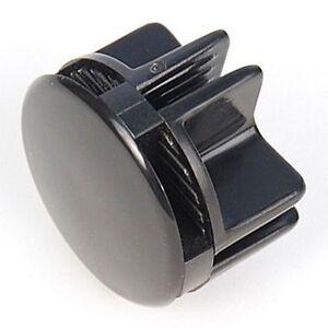 Wire cube plastic connector BLACK storage cubicle mini grid corner snap push NEW