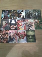 MARVEL 80TH ANNIVERSARY TRADING CARDS X 14