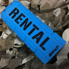 New Exalt Bayonet Rental Barrel Cover Sock Plug Condom - Cyan Blue