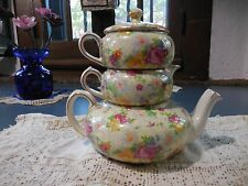 Lord Nelson rose time stacking teapot