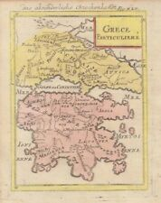 1685 Nice Mallet Map of  Greece