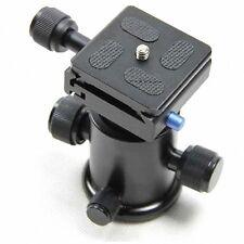 """New DSLR Camera Heavy Duty Camera Tripod Ball Head w/ 1/4"""" Quick Release Plate"""