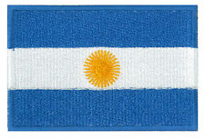 Patche écusson Argentine Argentina patch 85 x 55 mm brodé thermocollant