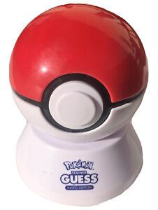 Pokemon Trainer Guess Kanto Edition Electronic Guessing Game Zanzoon 09577 Works