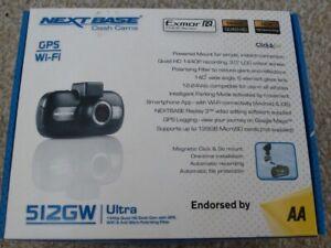 NEXTBASE 512GW Dash Cam Camera Recorder 1440p 2K Quad HD GPS WIFI USED VGC