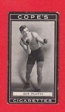 COPE BROS. & CO. LTD. -  VERY  RARE  MILITARY / BOXERS  CARD  -  NO. 57  -  1915